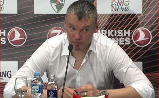 Gynėjus liaupsinęs Š.Jasikevičius: atrodome labai gražiai - reikia tą tęsti