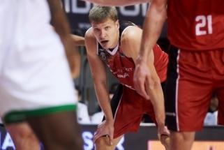 """E.Mockevičius prieš būsimus """"Žalgirio"""" varžovus žaidė naudingiausiai komandoje"""