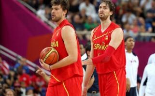 Galingai rungtyniaujanti Ispanija patiesė ir Europos čempionus