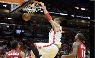 Lietuvos šventę mūsiškiai NBA paminėjo skirtingai: solidžiausiai atrodė J.Valančiūnas