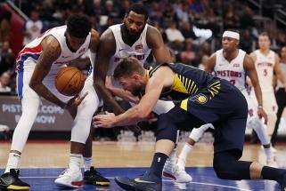 """Rezultatyviausias rungtynių žaidėjas D.Sabonis neišgelbėjo """"Pacers"""" nuo apmaudžios nesėkmės"""