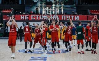 """Kuzminskas su """"Loko"""" eliminavo """"Chimki"""", CSKA patyrė netikėtą nesėkmę"""