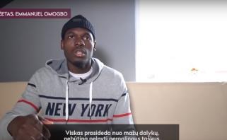 E.Omogbo apie skaudų šeimos narių praradimą: jie iškeliavo, bet dvasios su manimi