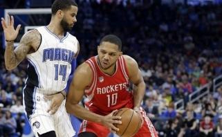 """NBA trilerių naktyje """"Rockets"""" gynėjas prametė net trylika tritaškių (rezultatai)"""