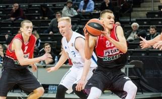 """""""Lietuvos ryto"""" jaunimas Eurolygos turnyrą pradėjo triuškinančia pergale"""