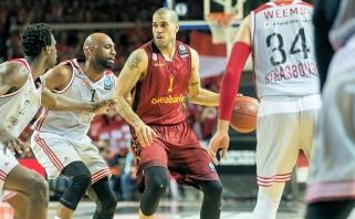 """Pirmajame Europos taurės finalo mače Strasbūro klubas palaužė """"Galatasaray"""""""