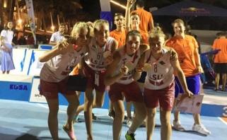 LSU merginos - Europos krepšinio 3×3 vicečempionės (komentarai)