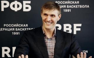 RKF prezidentu perrinktas A.Kirilenka: abejoju, kad per 10-20 metų mūsų krepšinyje įvyks dramatiškų permainų