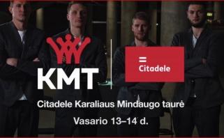 Įvaizdiniame KMT klipe – trofėjų serginčių žalgiriečių ir LKL žaidėjų akistata