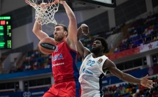 Eurolygos mėnesio MVP - turnyro rekordą pagerinęs CSKA serbas