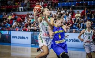 Lietuvės Europos čempionate iškovojo dar vieną pergalę ir grupėje finišavo pirmos