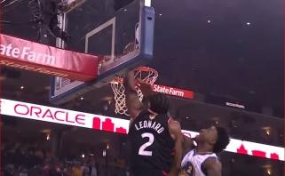 NBA Top 5 viršūnėje - K.Leonardo dėjimas ir F.VanVleeto tolimas šūvis
