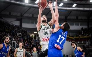 Lietuvos rinktinė pirmą kartą pralaimėjo Pasaulio čempionato atrankos turnyre