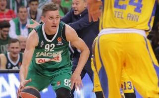 """""""Žalgiris"""" Tel Avive be didesnių problemų susitvarkė su """"Maccabi"""" (Jankūno video)"""