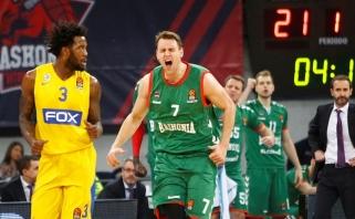 "Baskai sugadino A.Bagatskio debiutą prie ""Maccabi"" vairo"