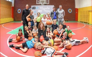 """""""Žalgiris TV"""" vedėja D.Belickaitė: krepšinis atveria daug kelių (interviu)"""