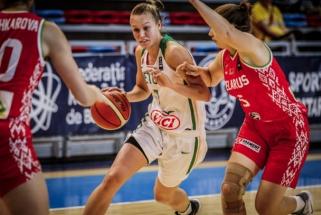 Merginos nusileido baltarusėms ir nepateko į Europos čempionato finalą