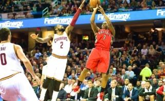 """Sugrįžimas: """"Raptors"""" išlygino NBA Rytų konferencijos finalo serijos rezultatą"""