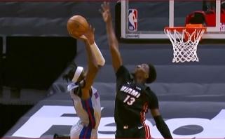 Plumlee dėjimas per Adebayo bei pastarojo blokas - įspūdingiausi NBA momentai