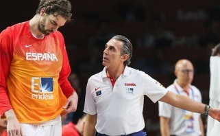 Ispanų treneris netikėtai žemai nusilenkė JAV ir pripažino, kad bijo brazilų