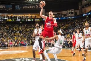 N.De Colo vedamas CSKA - Eurolygos finale