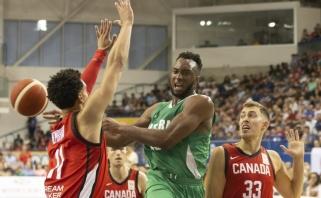 Nigerija smogė atgal - Lietuvos varžovai kanadiečiai patyrė pralaimėjimą
