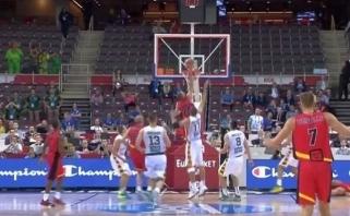 Dėl abejotino M.Lojeski metimo Lietuvos rinktinė kreipiasi į FIBA (video)