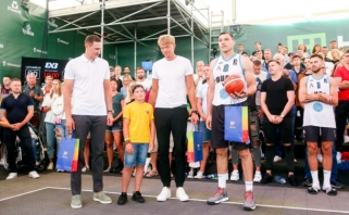 R.Kaukėno paramos fondas ir rinktinės krepšininkai išpildė Nojaus svajonę