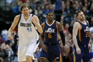 """NBA: """"Mavericks"""" renesansas, """"76ers"""" legionierių šou ir 78 taškai per vieną kėlinį"""