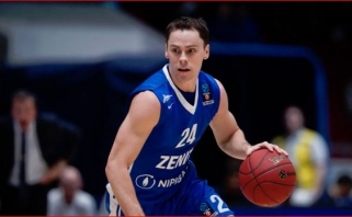 """K.Kuricas - """"Zenit"""" lyderis, buvęs per plauką nuo karjeros pabaigos"""