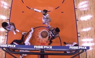 D.Lillardo pergalingas metimas su pražanga ir D.Gallinari dėjimas - gražiausi NBA momentai