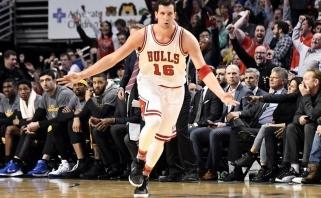 """NBA: pirmame mače be K.Duranto """"Warriors"""" patyrė nesėkmę Čikagoje (rezultatai)"""