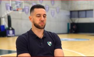"""V.Micičius: """"Žalgiryje"""" žaidžiau brandžiausią krepšinį savo karjeroje"""