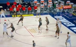 NBA rungtynių ištrauka linksmina internautus: karštą bulvę gainiojo ir Hardenas, ir Jokičius