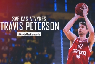 """Oficialu: """"Lietuvos ryto"""" gretose - T.Petersonas"""