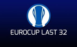 Tęsiasi Europos taurės Last-32 etapo kovos