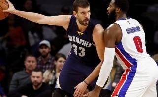 """NBA: fantastiškas M.Gasolio mačas ir pirmoji """"Timberwolves"""" pergalių serija (rezultatai)"""