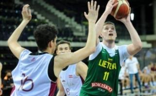 Pasaulio čempionatui besirengianti jaunimo rinktinė nusileido australams