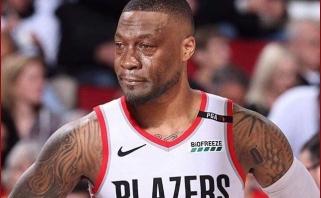 """""""Blazers"""" žvaigždė D.Lillardas papasakojo apie pirmą reakciją į NBA sezono sustabdymą"""