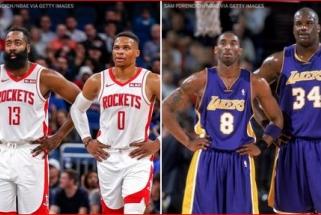 J.Hardeno ir R.Westbrooko tandemas - rezultatyviausias NBA istorijoje