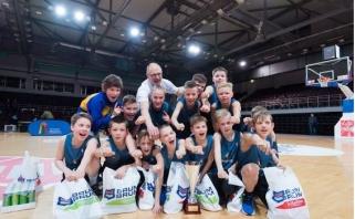 """""""Jr. NBA Lietuva 2017"""" nugalėtojais tapo palangiškiai"""