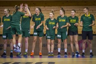 Lietuvės Europos jaunimo čempionatą baigė triuškinančia pergale