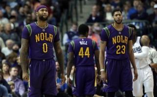 """""""Pelicans"""" nusileido konkurentams, D.Motiejūnas mačą stebėjo nuo suolo"""