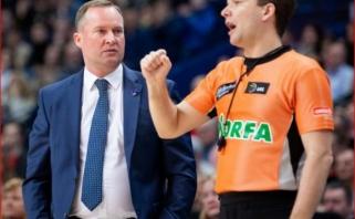 """Teisėjams kritikos negailėjęs K.Maksvytis: """"Turiu ginti savo komandą"""""""
