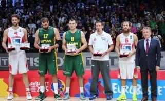Simboliniame čempionato penkete - du lietuviai