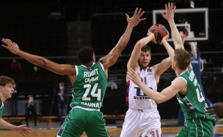 Giedraičio NBA svajonė ko kas neišsipildė – snaiperis lieka Ispanijoje