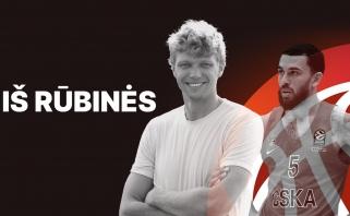 M.Jamesas - M.Kuzminskui: geriausias Eurolygos žaidėjas esu aš arba Larkinas