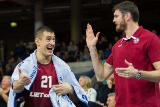 """""""Lietkabelis"""" į Zagrebą vyks be S.Galdiko, bet su viltimi, kad žais D.Lavrinovičius"""