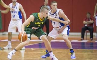 Lietuva po pratęsimo palaužė Izraelį ir pateko į ketvirtfinalį