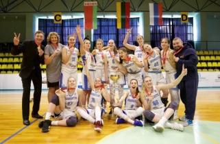 "Kursko ekipa apgynė BWBL čempionių titulą, o ""Sūduva"" liko ketvirta"